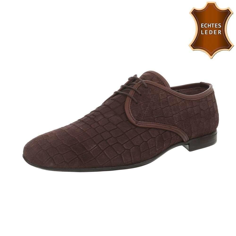 Pánske spoločenské topánky shp-osp1051br