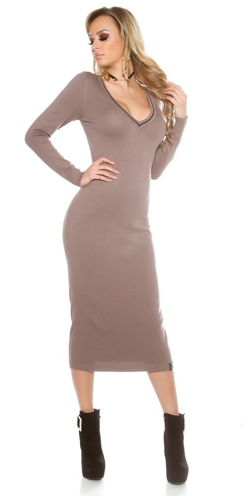 Pletené dámske šaty Koucla in-sat1435ca