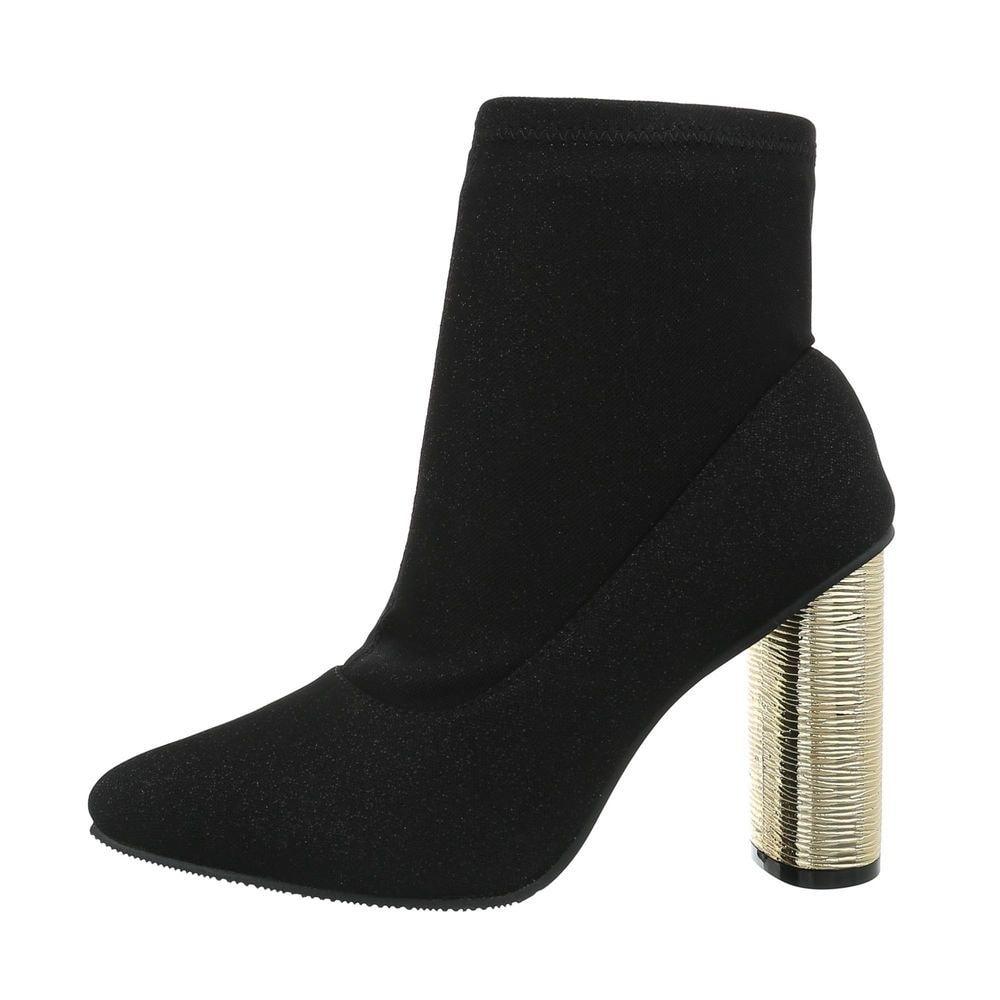 Kotníková obuv na podpatku - 41 EU shd-okk1092bl