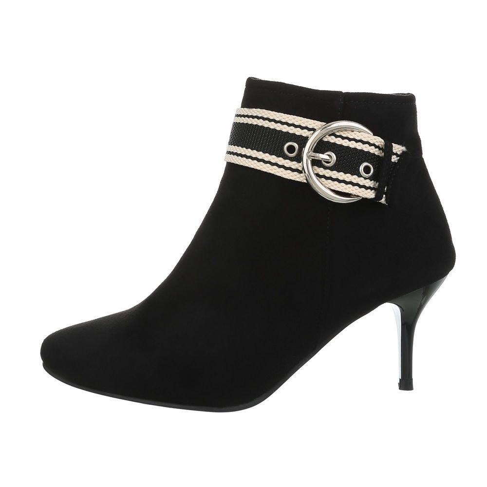 Členková dámska obuv EU shd-okk1072bl