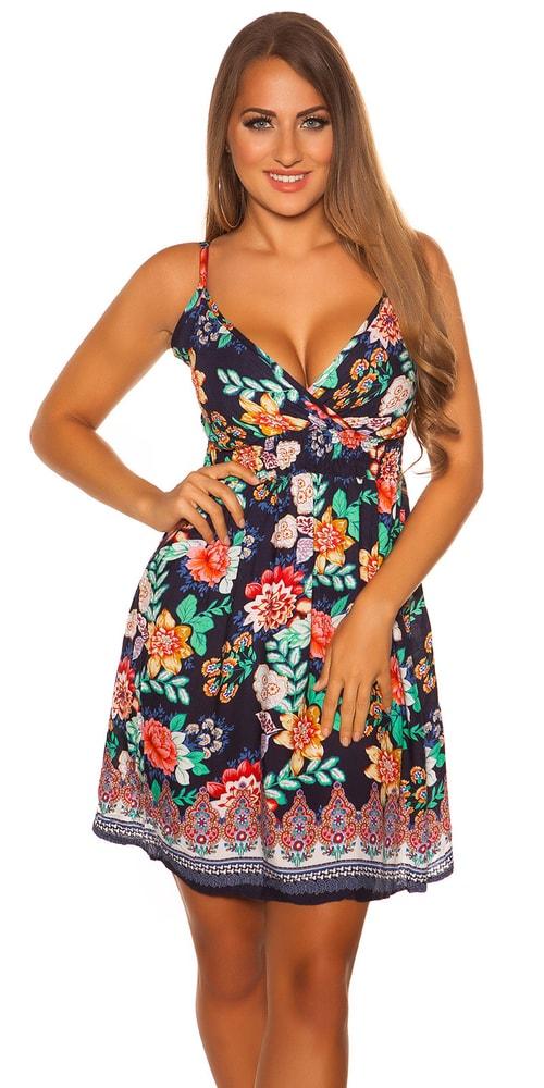Krátké letní šaty Koucla in-sat2066tm