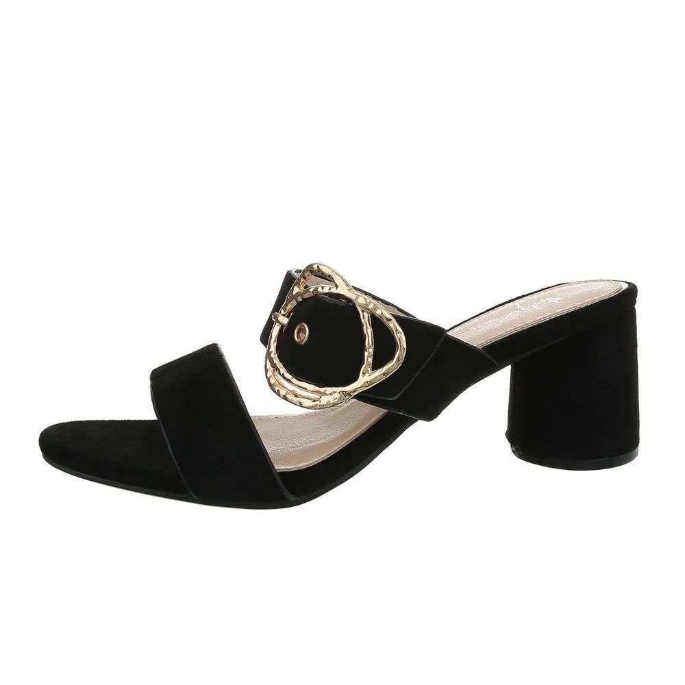 Čierne papuče EU shd-opa1096bl