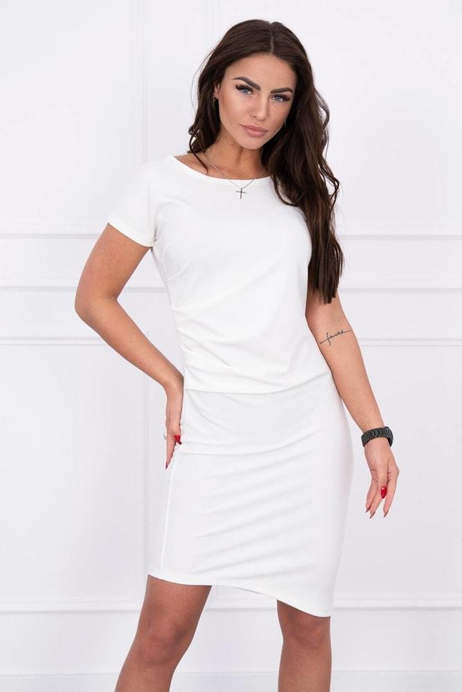 Dámské asymetrické šaty Kesi ks-sa8970cr