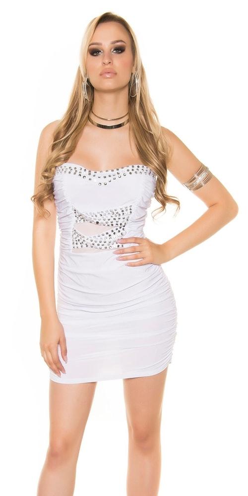 Spoločenské dámske šaty Koucla in-sat1346wh