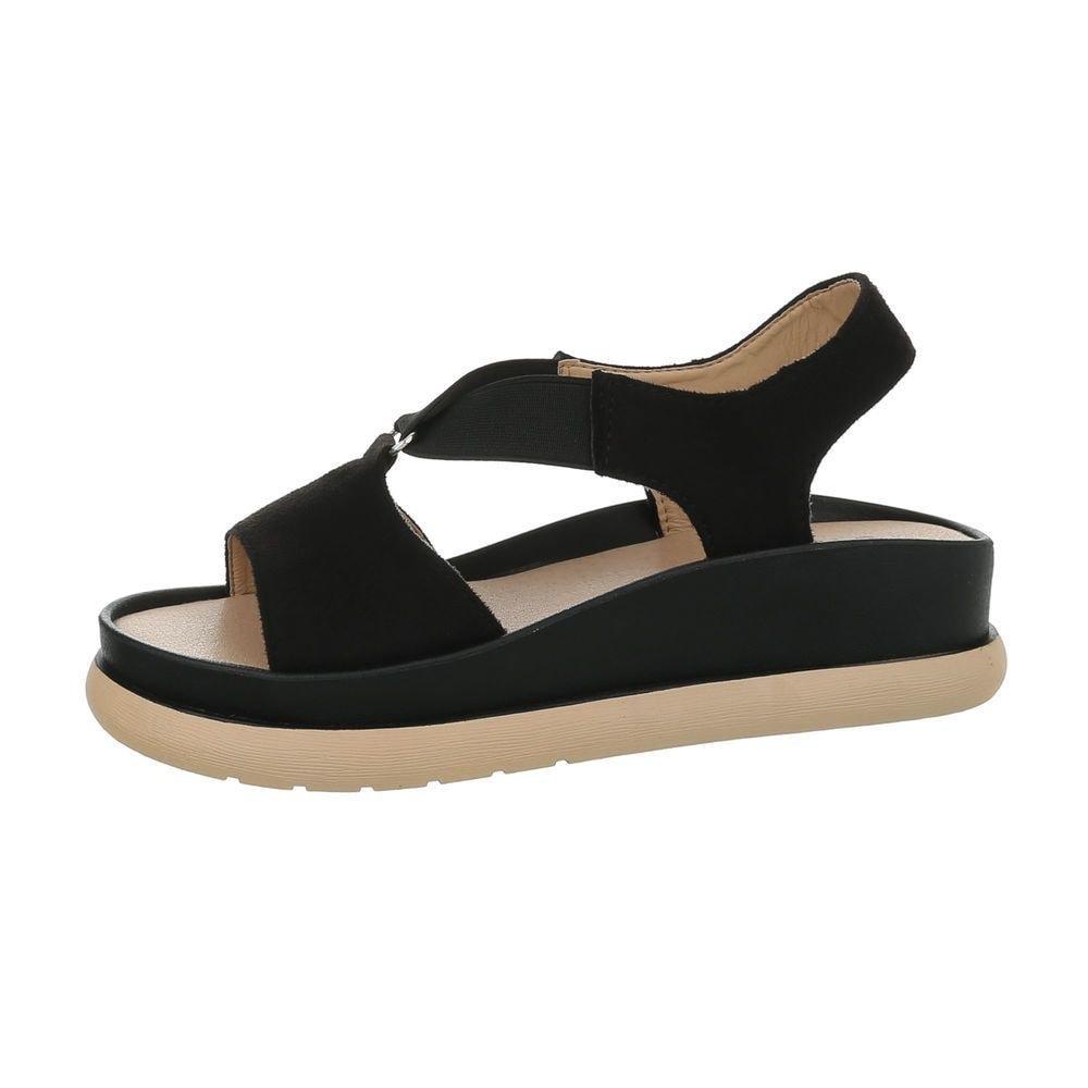 Letní sandálky černé - 39 EU shd-osa1149bl