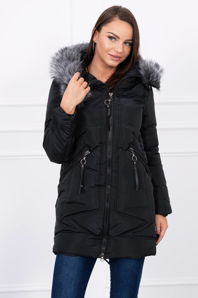 Dámska zimná bunda Kesi ks-buA02bl