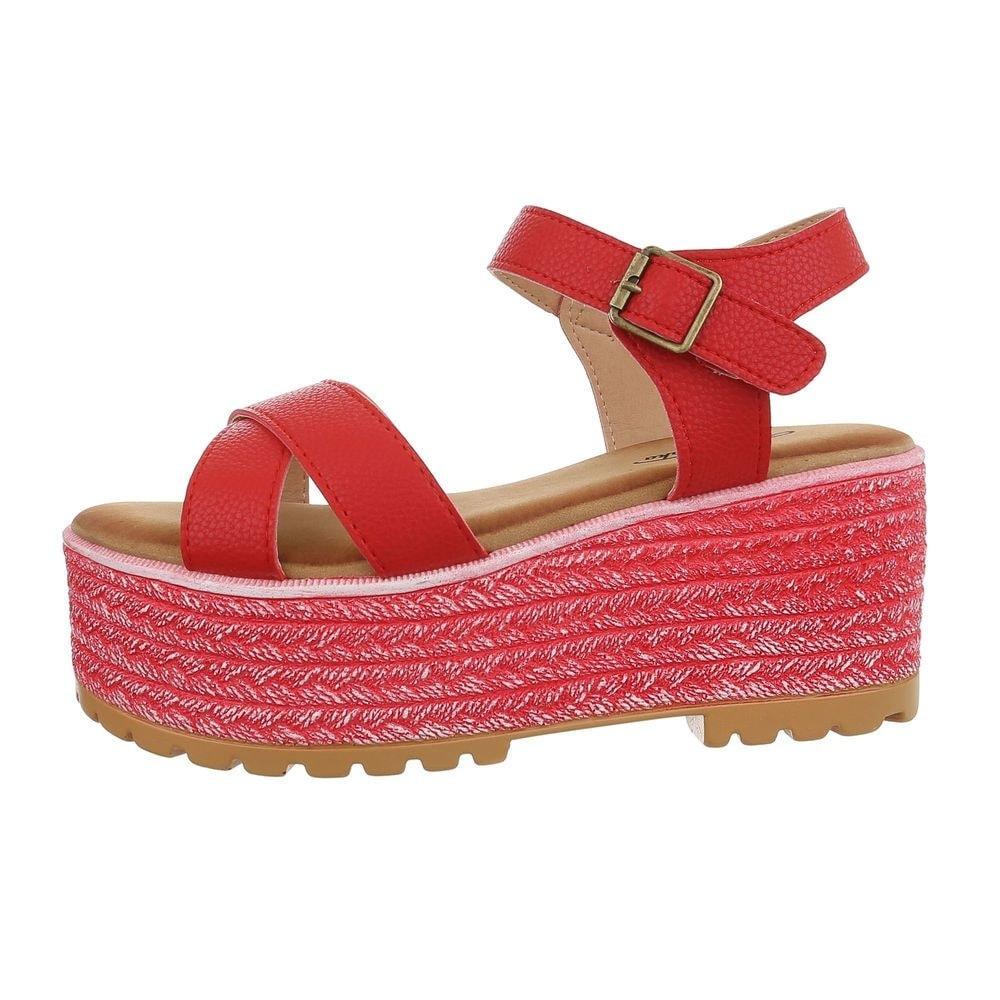 Červené sandále - 39 EU shd-osa1334re
