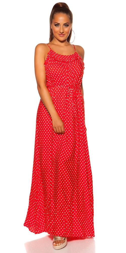 Letní šaty na ramínka - M/L Koucla in-sat2065re