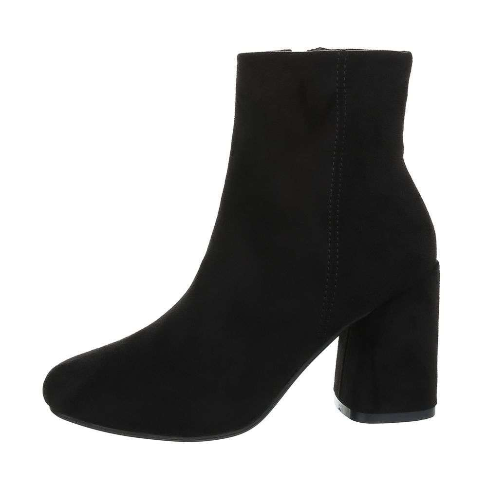 Čierne členkové topánky - 38 EU shd-okk1020bl