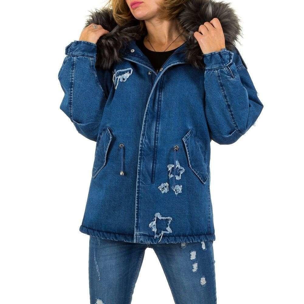 Zimní džínová bunda EU shd-bu1032
