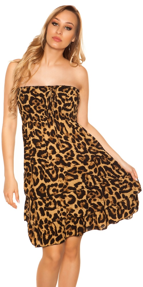 Letní šaty - S/M Koucla in-sat2042bl