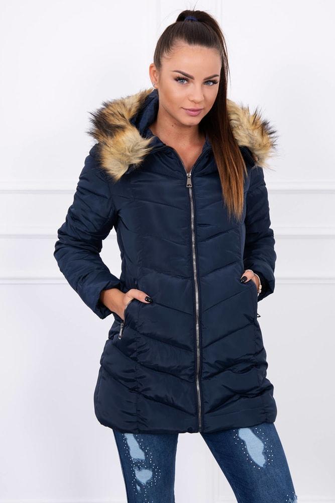 Zimná bunda s kapucňou Kesi ks-bu1807tm