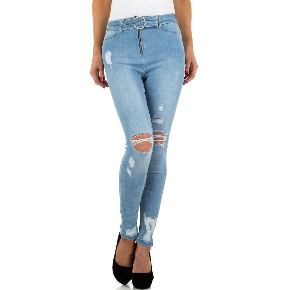 Světlé dámské džíny - XL/42 EU shd-ri1228