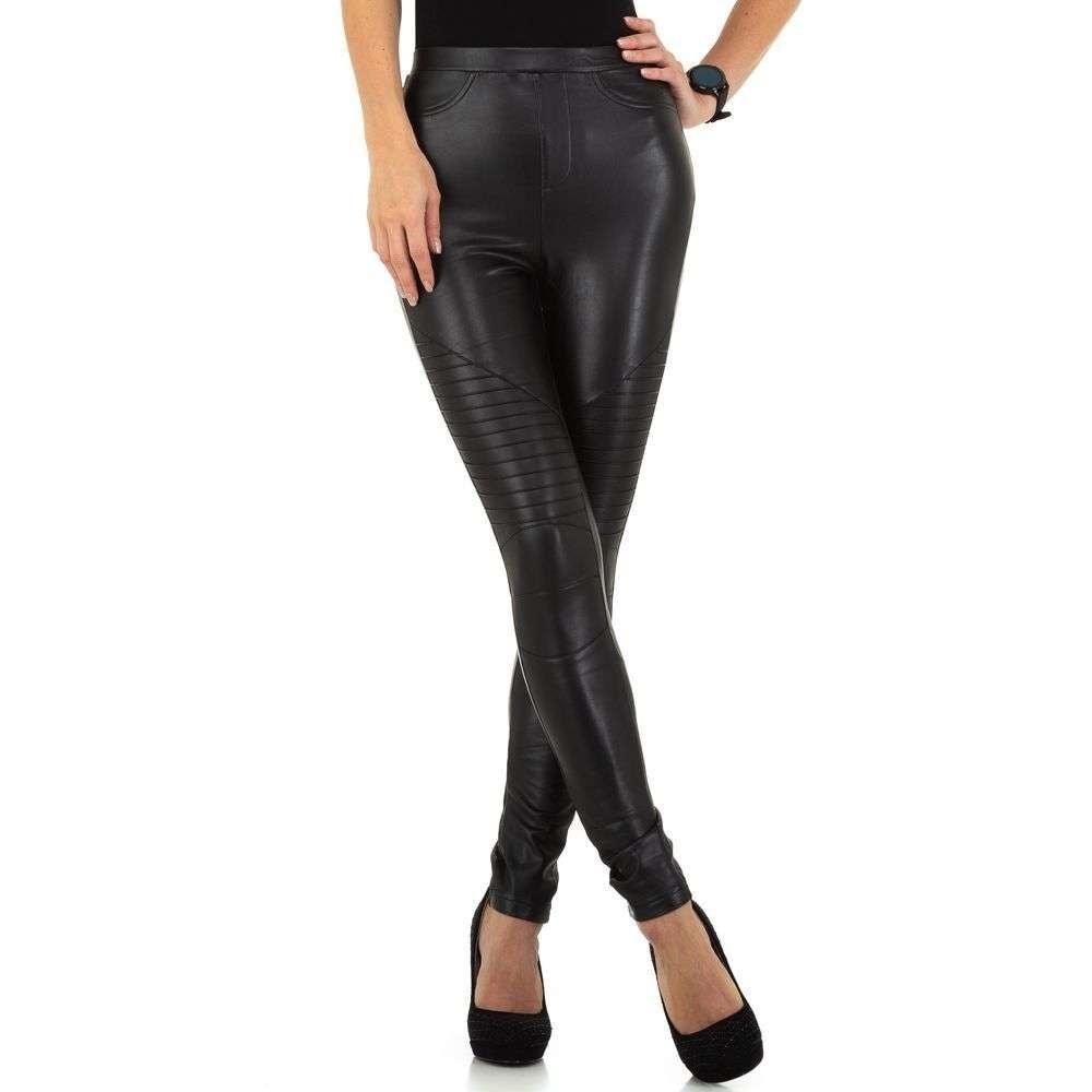 Dámske koženkové nohavice EU shd-ka1048