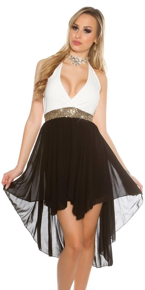 Plesové šaty krátke - S/M Koucla in-sat1500cr