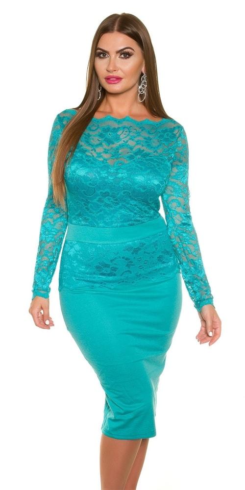 Elegantné čipkované šaty - 42 Koucla in-sat1336sa