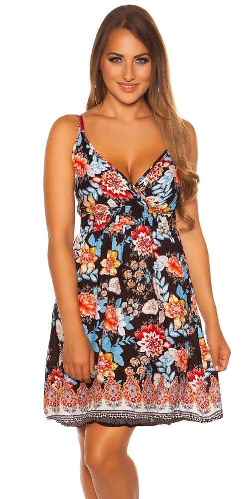 Letní krátké šaty Koucla in-sat2066bl