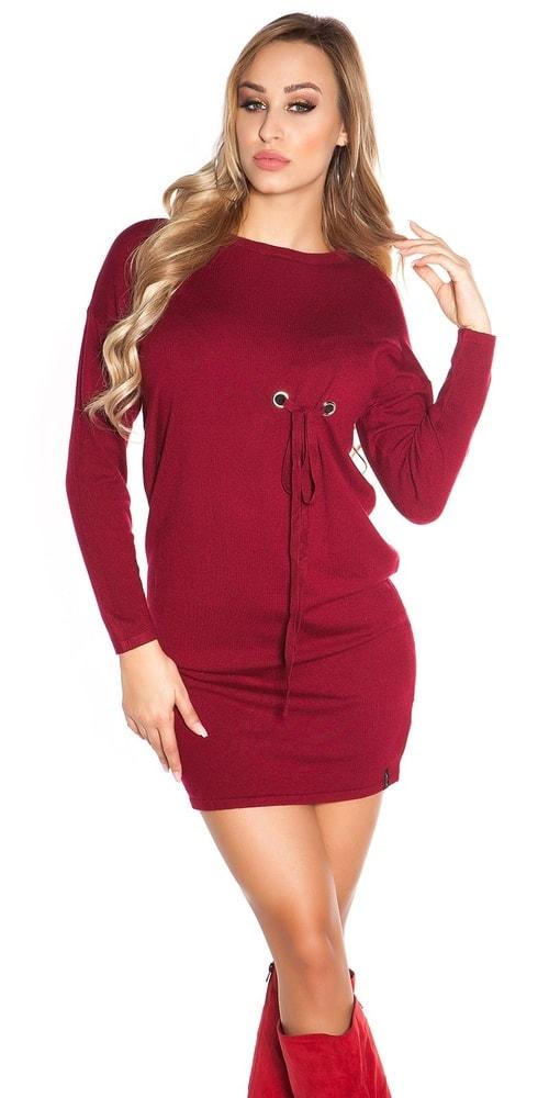 Úpletové mini šaty Koucla in-sat1695bo