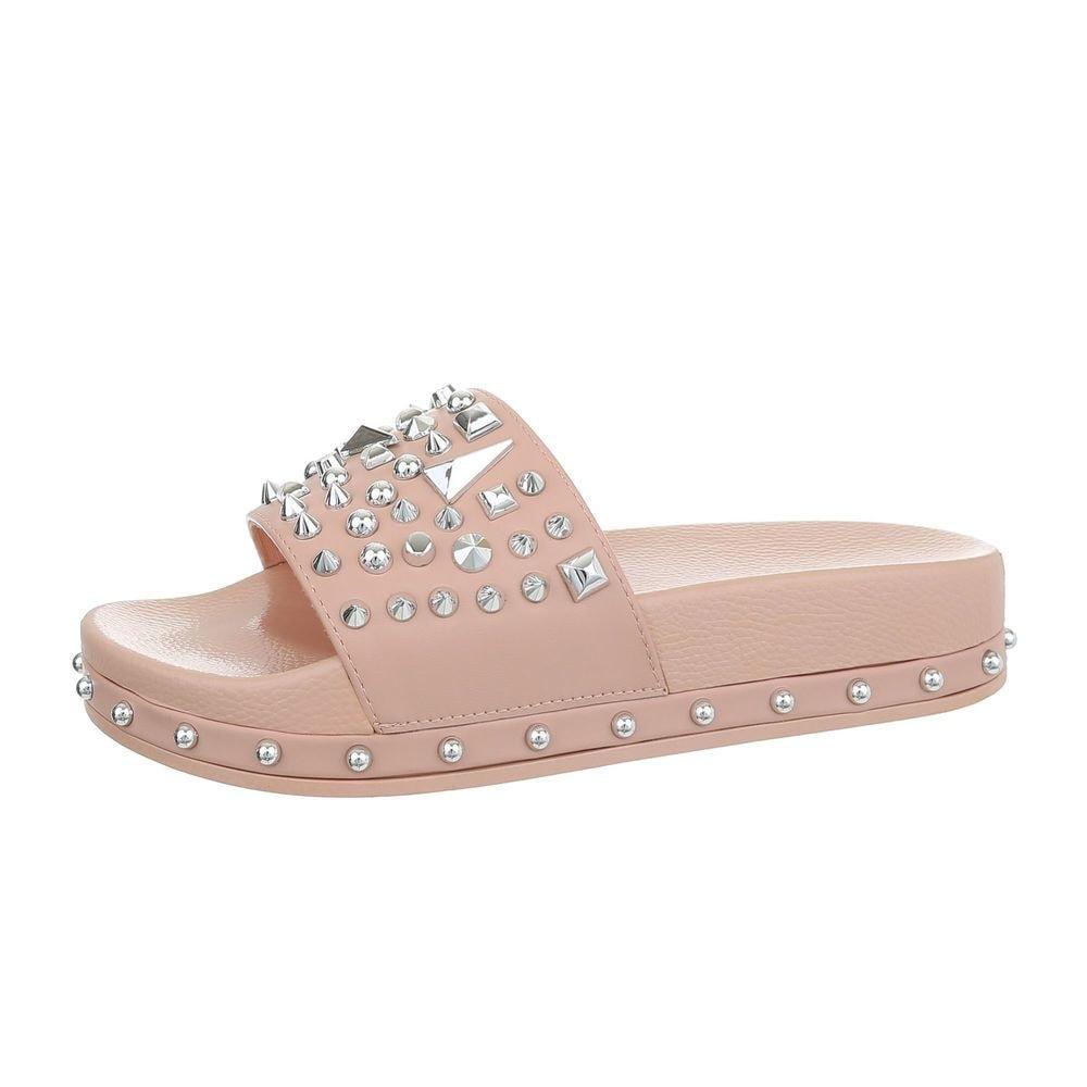 Dámske papuče s aplikáciou - 41 EU shd-opa1091pi