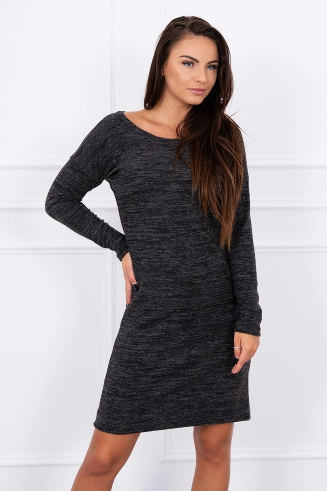 Úpletové dámské šaty Kesi ks-sa8945bl