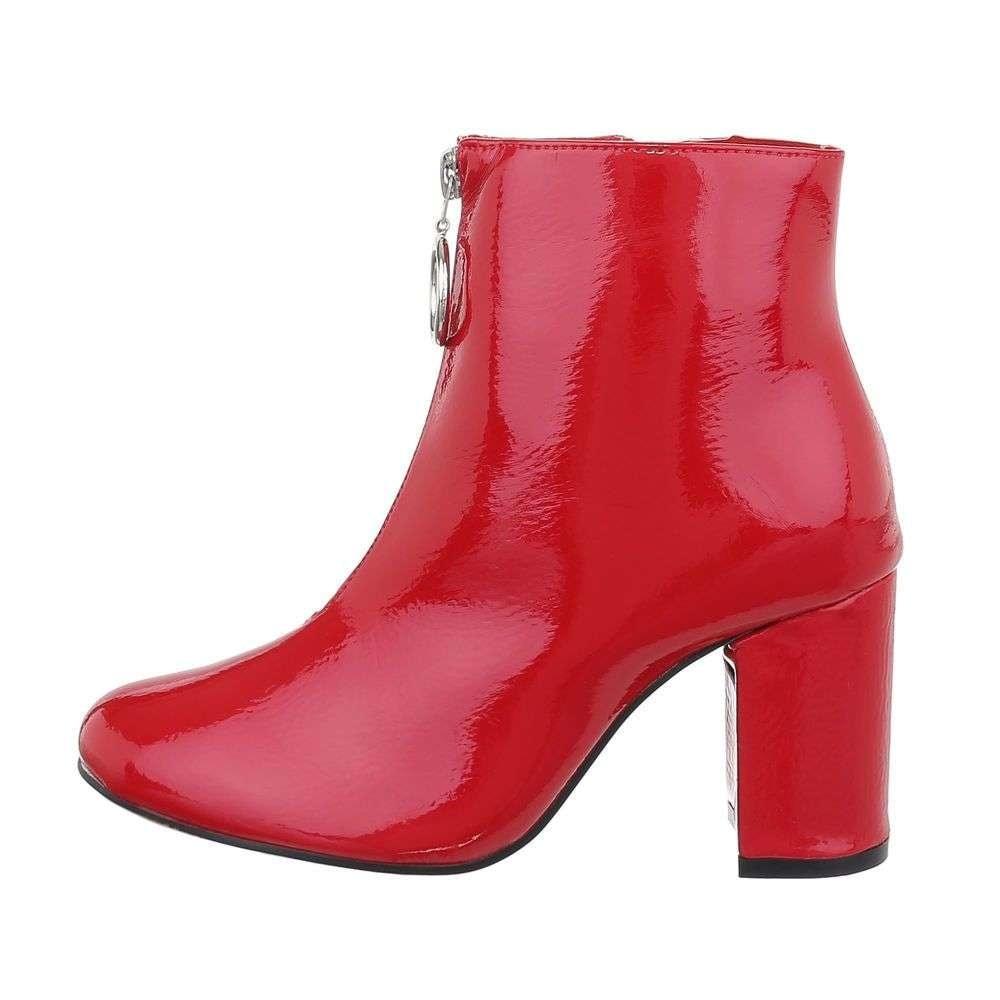 Červené členkové topánky - 36 EU shd-okk1222re