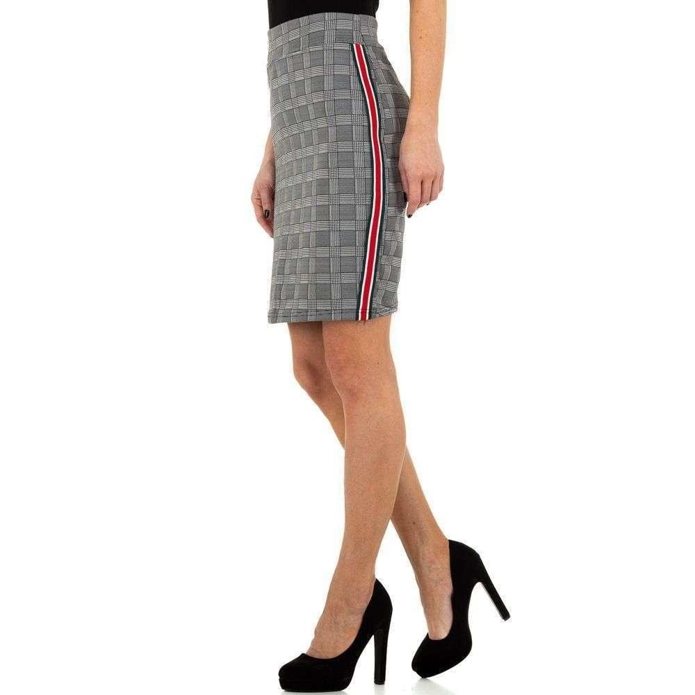 Dámska šedá sukňa EU shd-su1023sgr