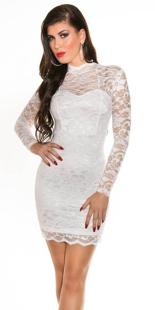 Spoločenské dámske šaty - 38 Koucla in-sat1072wh