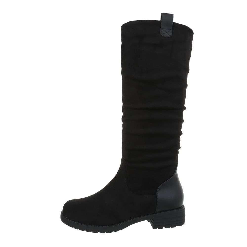 Čierne čižmy - 37 EU shd-oko1035bl
