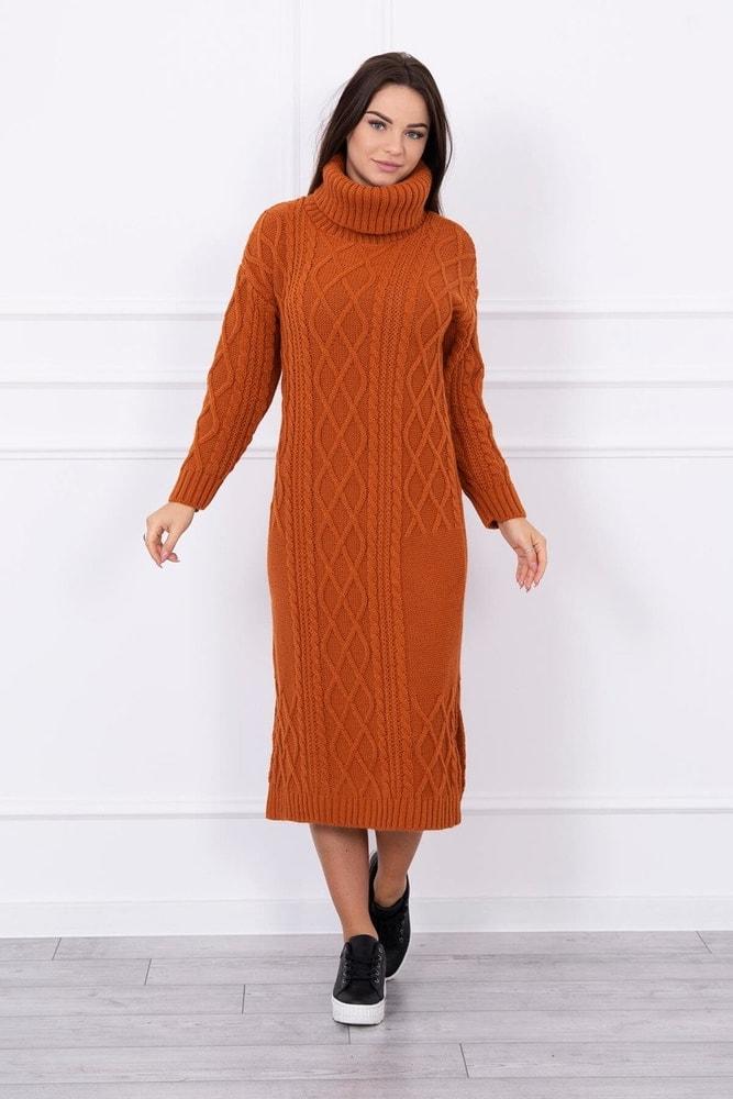 Dámske pletené šaty Kesi ks-saS8481br