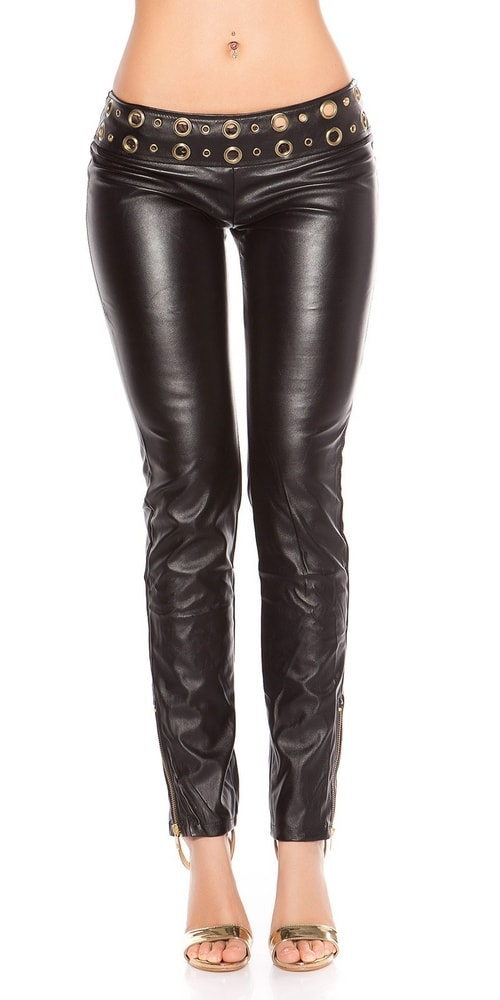 Čierne dámske nohavice Koucla in-ka1221bl