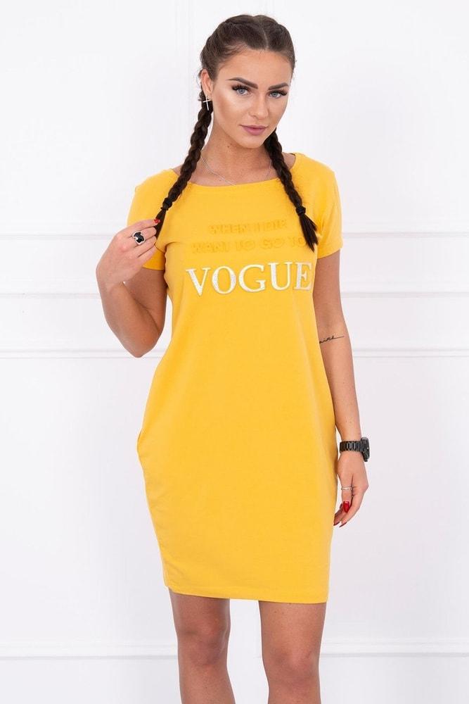 Volnočasové šaty s krátkým rukávem - S/M Kesi ks-sa8833ge