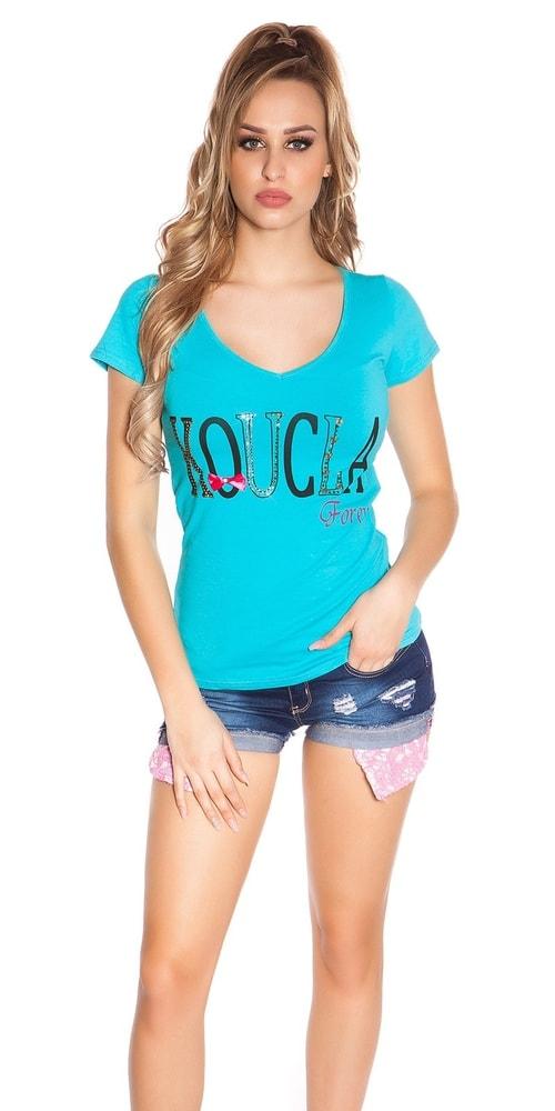 Dámske tričko s čipkou Koucla in-tr1186tu