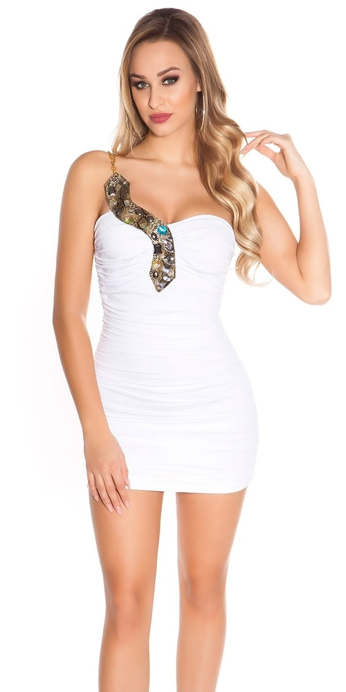 Dámské plesové mini šaty Koucla in-sat1747wh