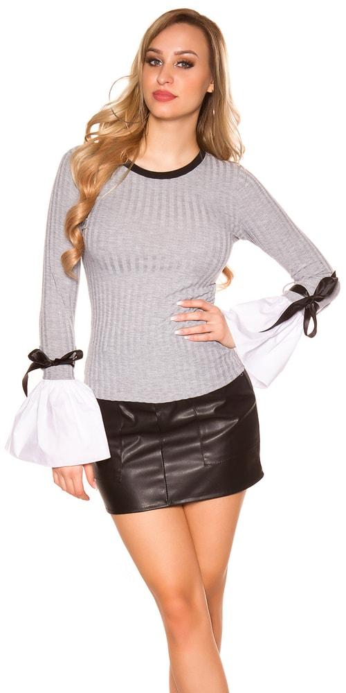 Tričko s dlhými rukávmi Koucla in-tr1246gr