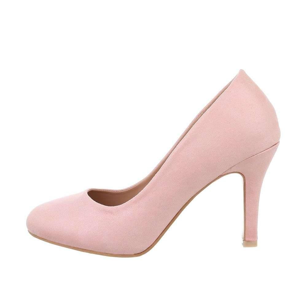 Růžové dámské lodičky - 40 EU shd-olo1147pi