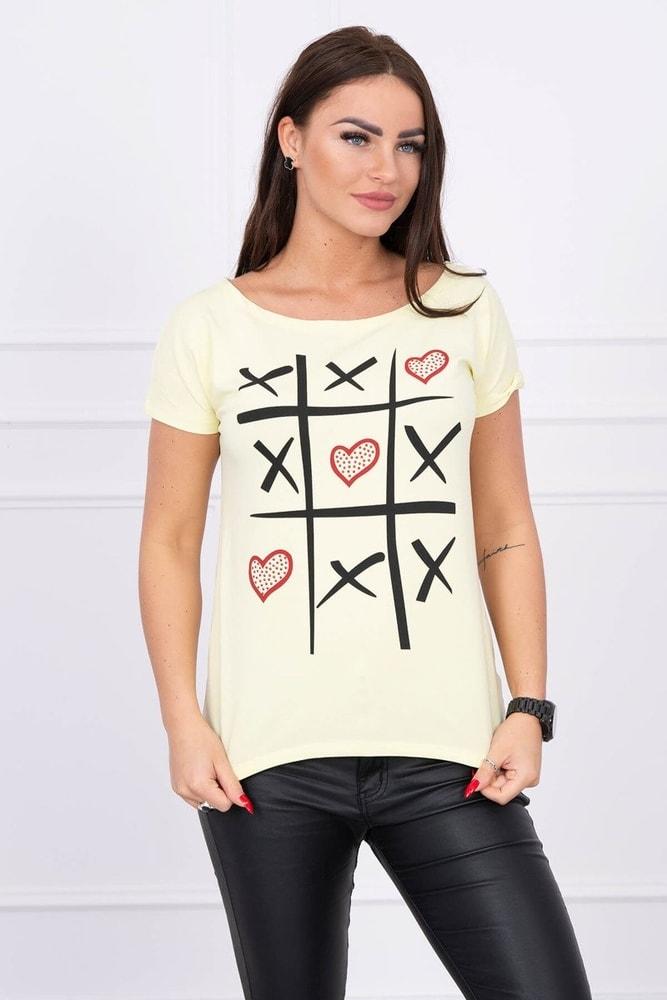 Dámske tričká Kesi ks-tr51798ge