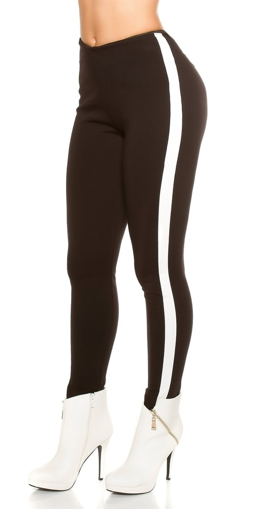 Sexy čierne nohavice - S Koucla in-ka1168