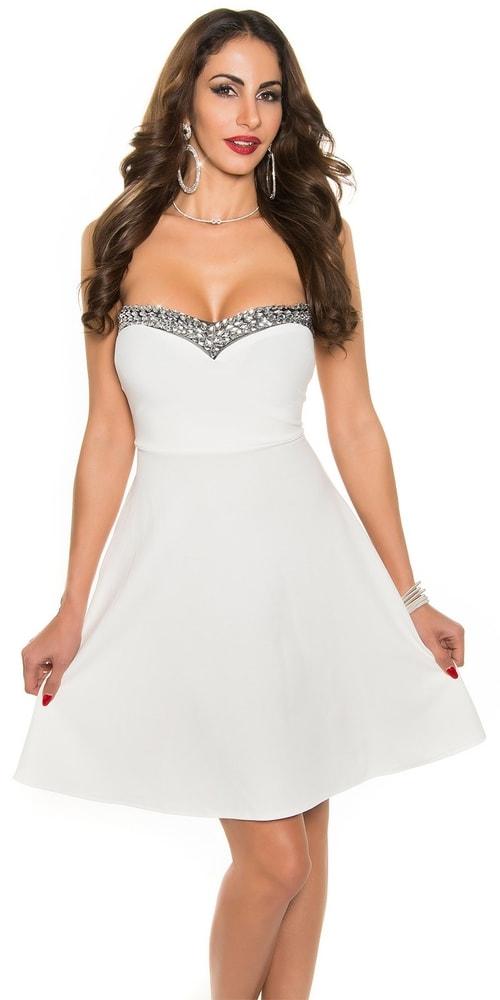 Plesové šaty krátke Koucla in-sat1042wh