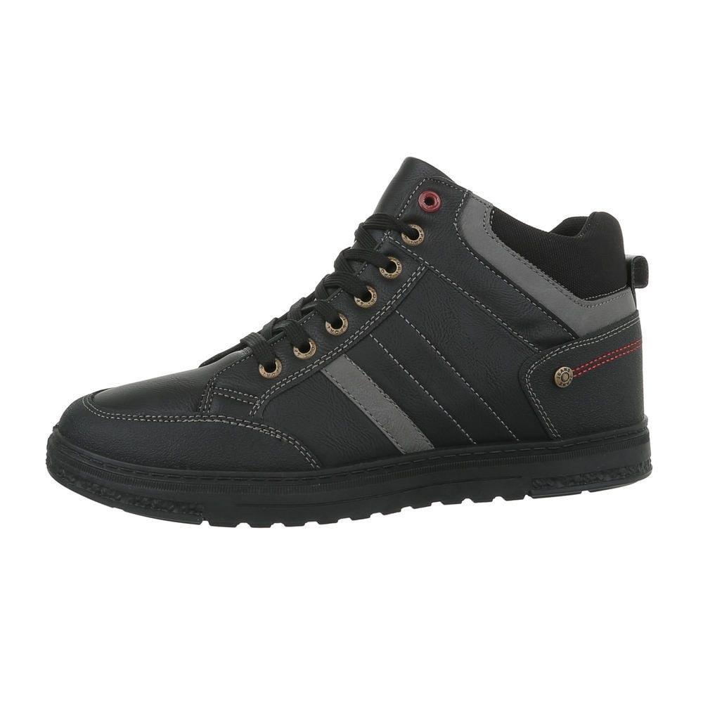 Pánske čierne členkové topánky - 40 shp-okk1052bl