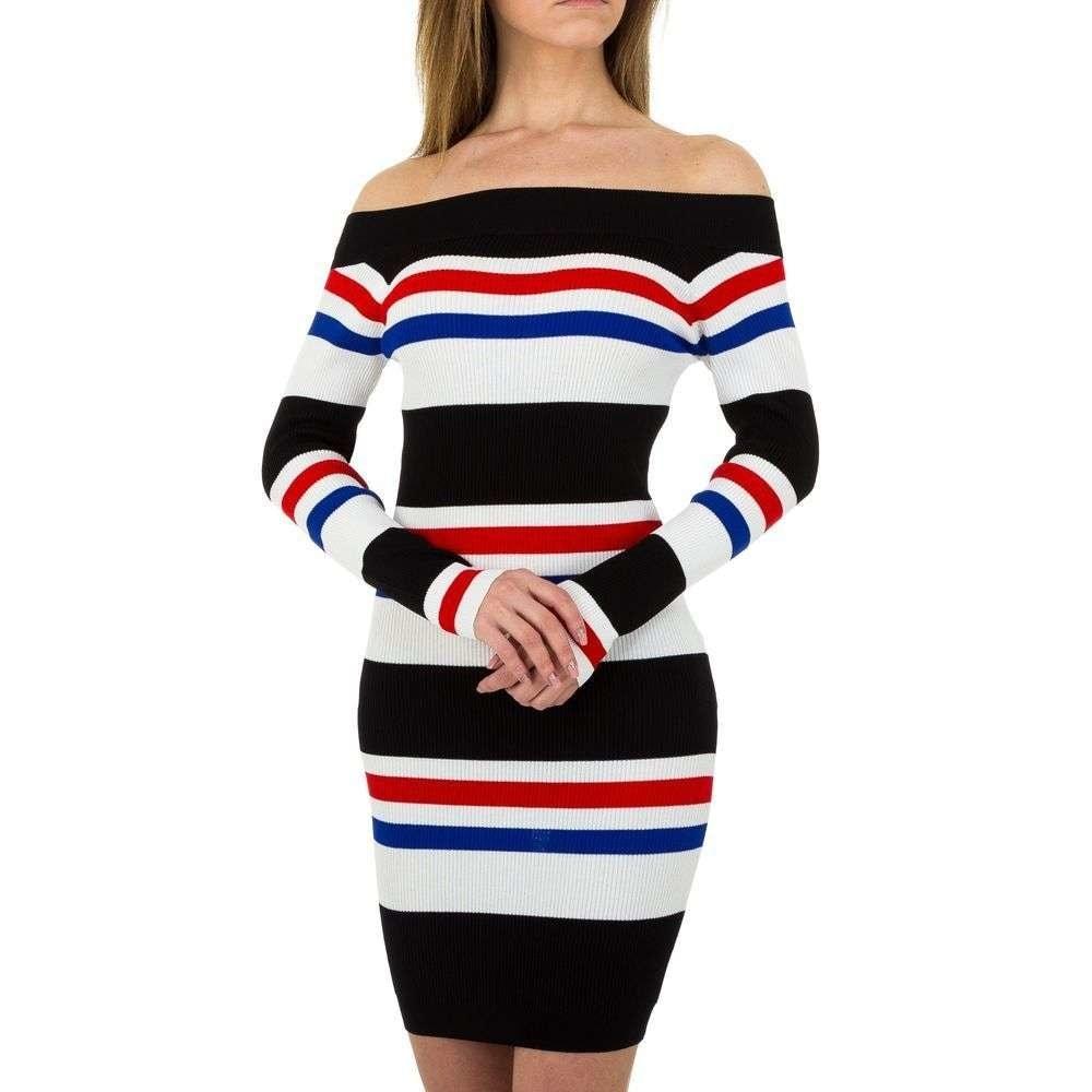 Úpletové dámské šaty EU shd-sat1053mo