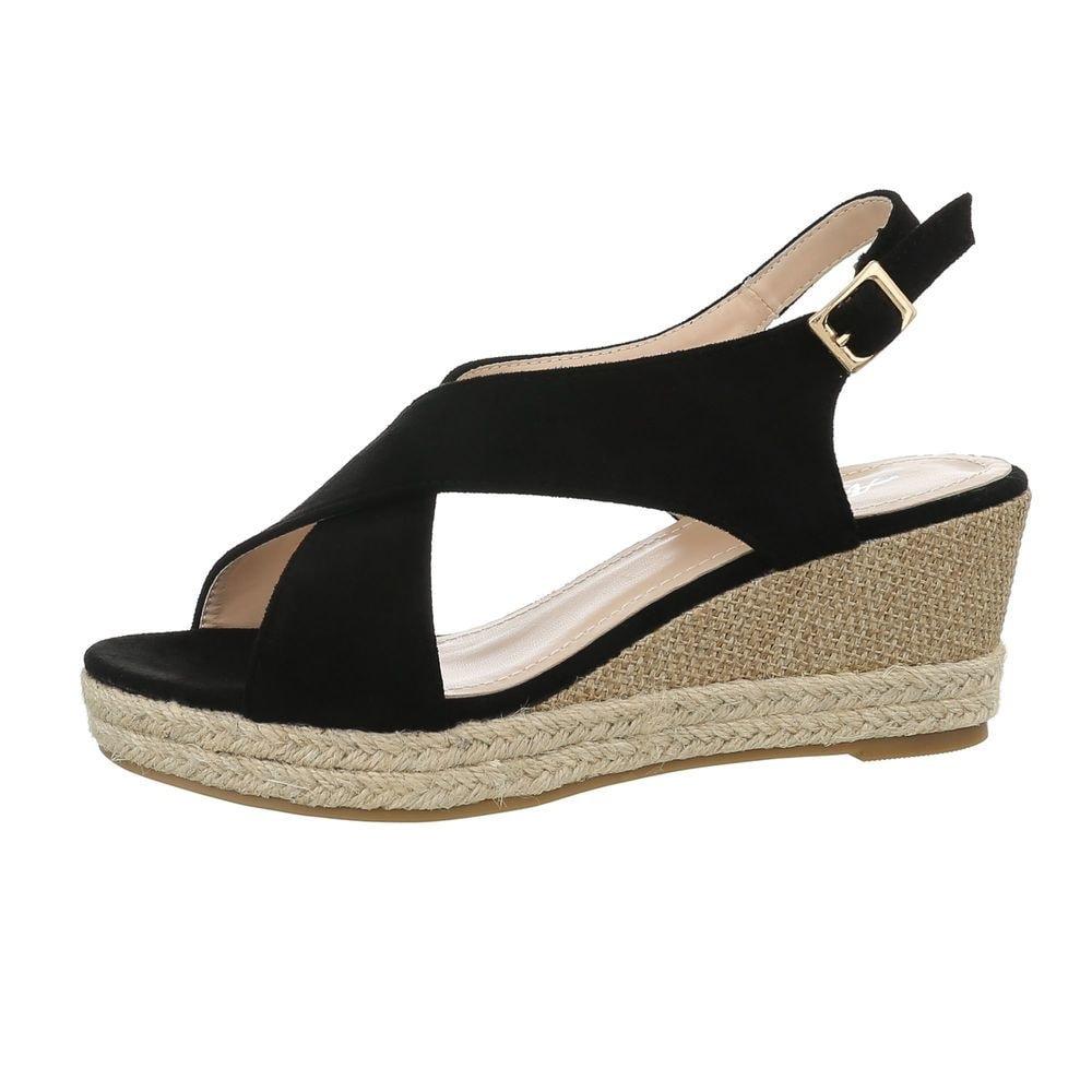 Dámské letní sandálky na klínu - 39 EU shd-osa1141bl
