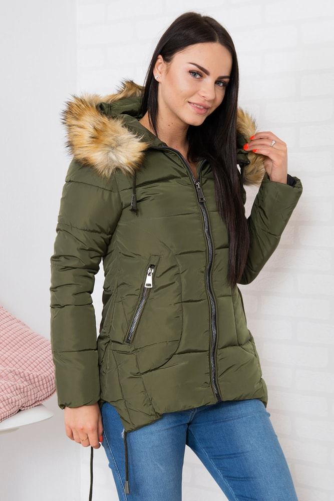Zimná bunda s kapucňou Kesi ks-bu759kh