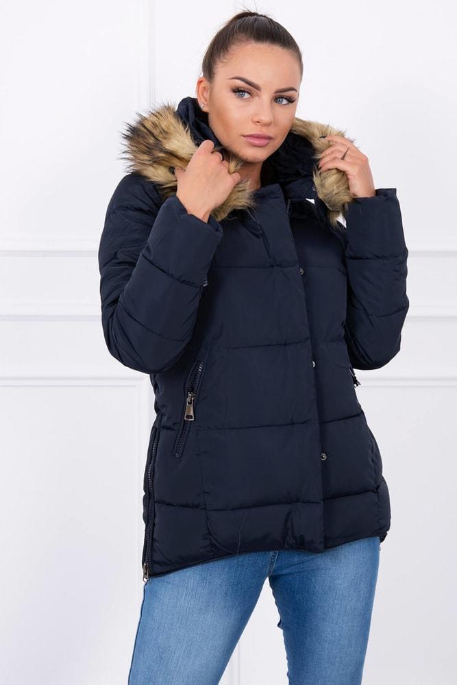 Zimná dámska bunda - L Kesi ks-bu859tmo