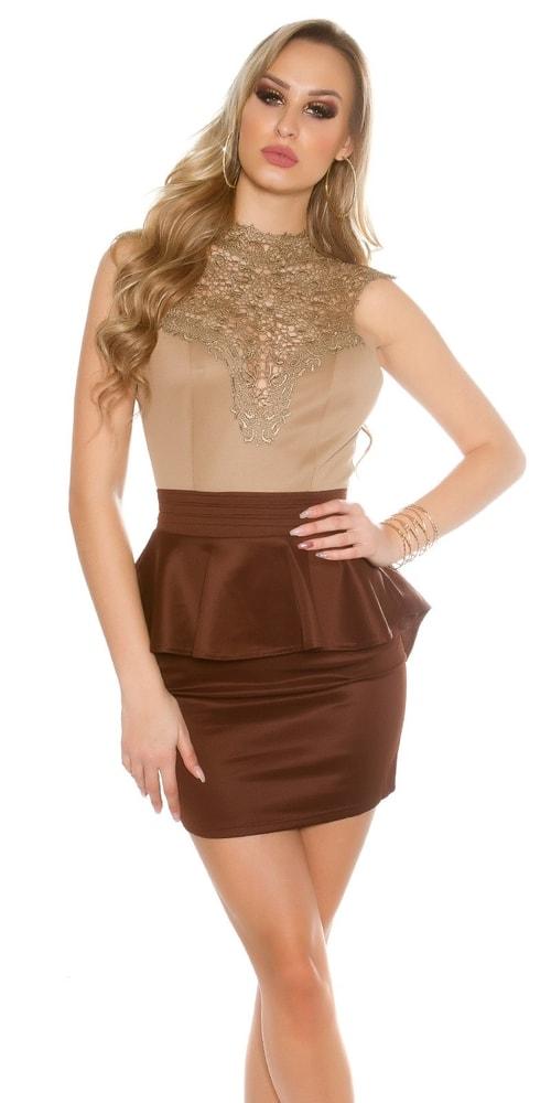 Krátke čipkované šaty Koucla in-sat1432ca