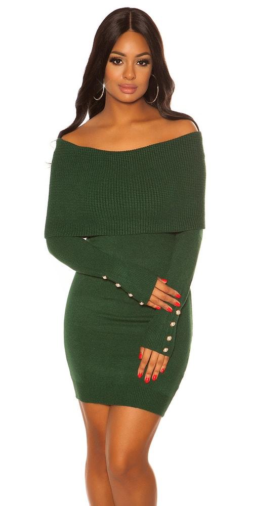 Dámské úpletové šaty Koucla in-sat2080ze