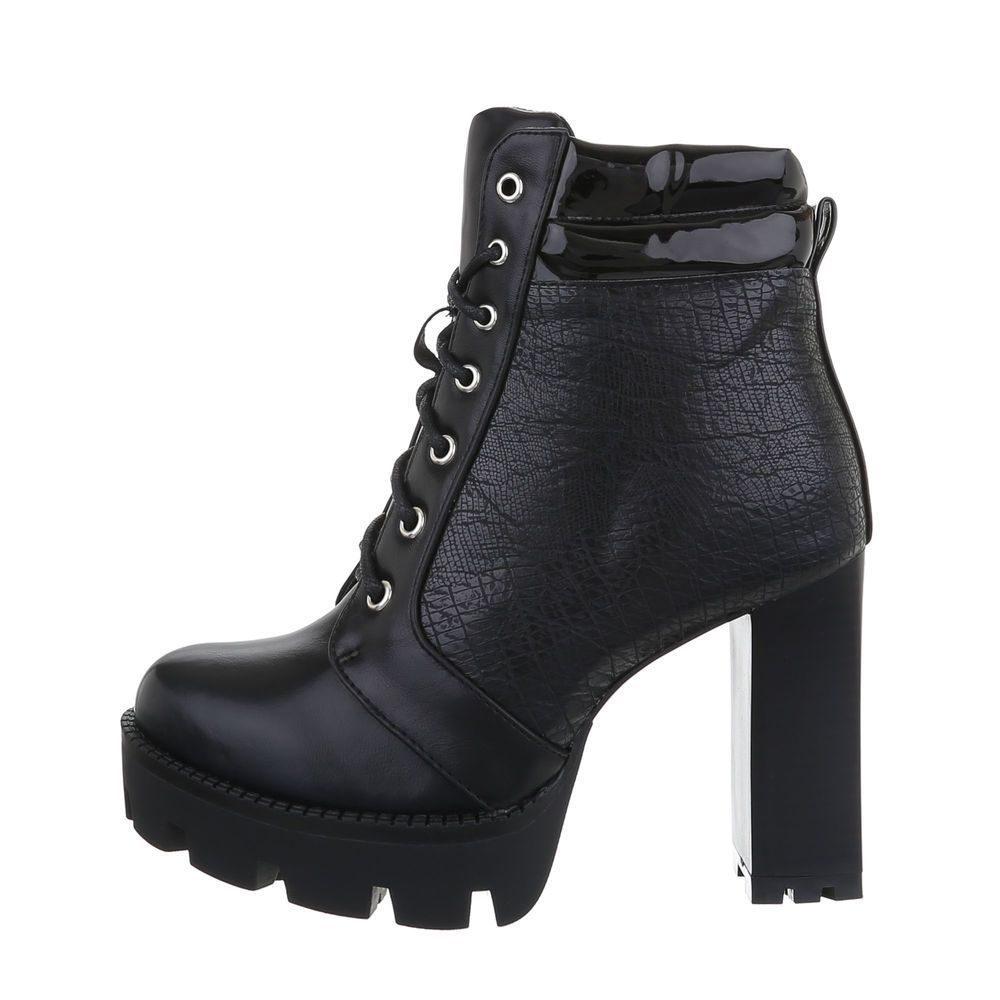 Dámske členkové topánky - 39 EU shd-okk1293bl
