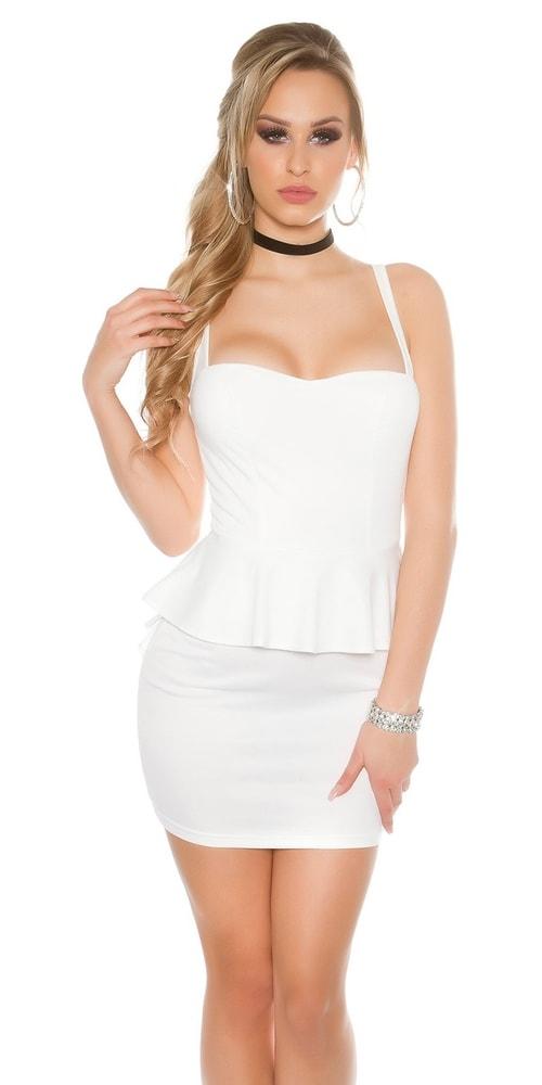 Dámske spoločenské šaty - S Koucla in-sat1605wh