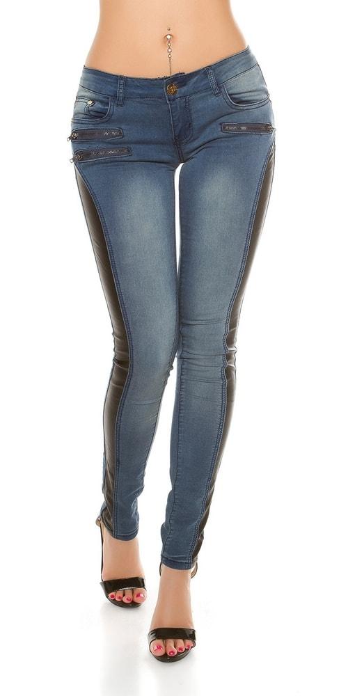 Dámske trendy džínsy - 38 Koucla in-ri1130