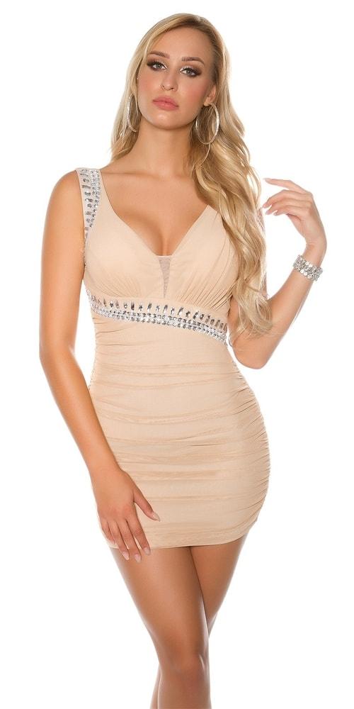 Dámske spoločenské mini šaty Koucla in-sat1675be