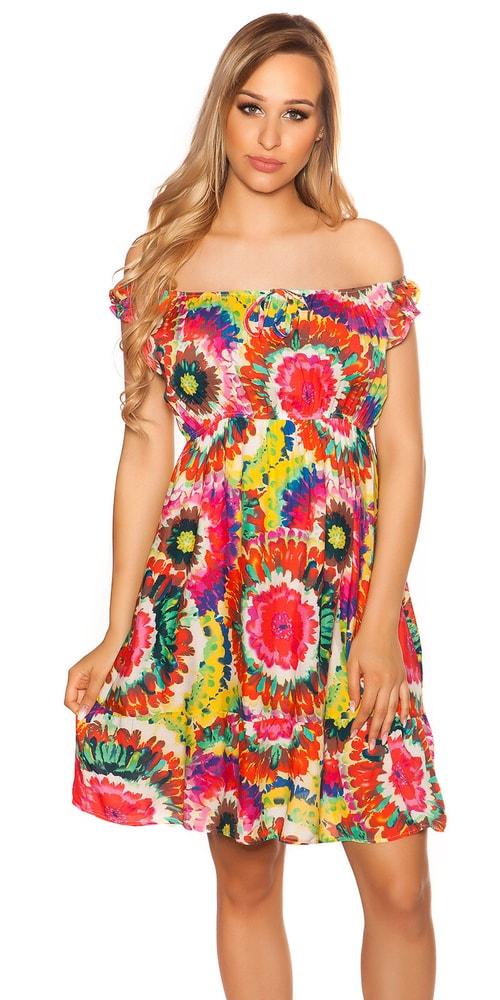 Krátké letní šaty - M/L Koucla in-sat2055re